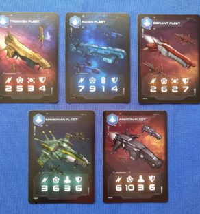 Cartas Pentaurus Fleet