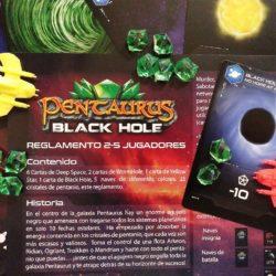 Pentaurus Black Hole